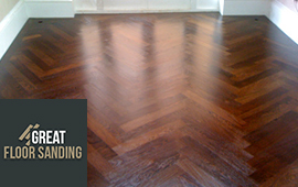 wood floor staining london