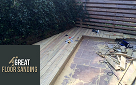 professional decking services in London