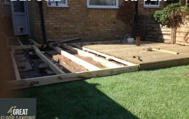 Decking Construction in London