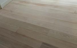 Freshly Sanded Wood Floor in London